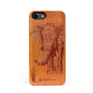 Real wood Tropical willow Case for iPhone 7